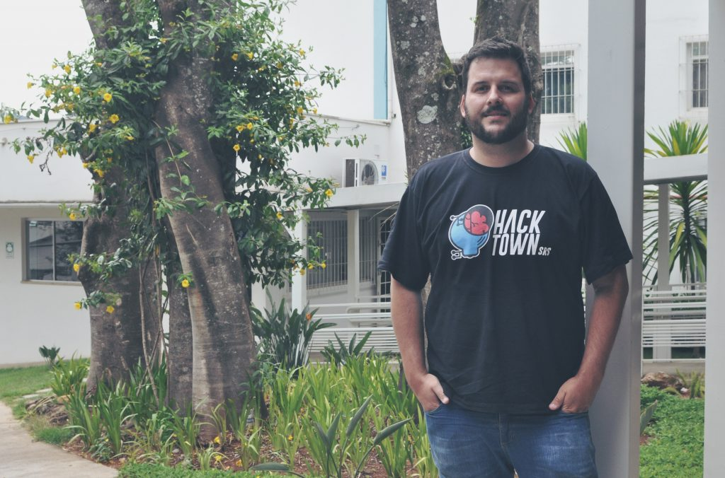 Foto do Carlos Henrique Vilela, co-fundador do Hack Town