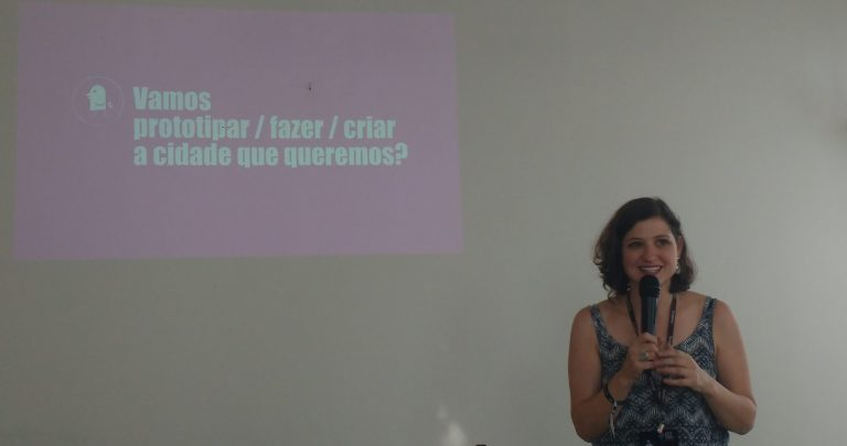 Carla Link fala sobre criar a cidade que queremos no Hack Town 2017