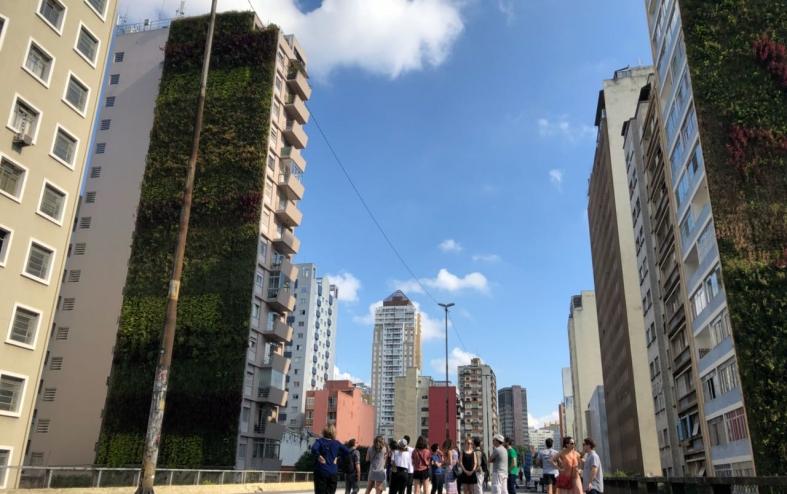 Corredor Verde do Minhocão na Virada Sustentável